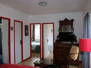 Bel appartement indépendant,  avec vue exceptionnelle sur la bastide