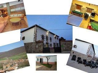 Casa rural (alquiler integro) Amontes Rural para 21 personas
