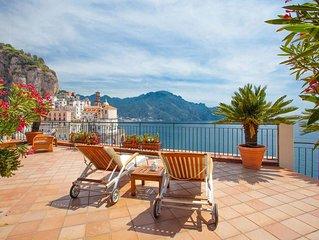 Casa Atrani e una deliziosa proprieta sulla Costiera Amalfitana, con terrazza pr