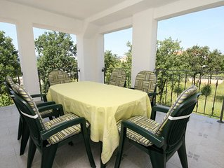 Two bedroom apartment with terrace Pinezici (Krk) (A-5464-a)