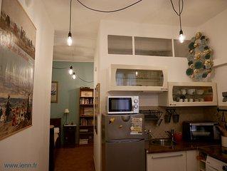 Appartement de charme dans la citadelle de Bastia. 3 etoiles