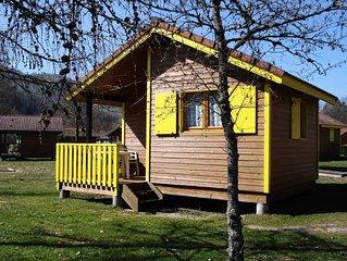 Camping du Lac de Moselotte**** - Bungalow 2 Pieces 5 Personnes Sans Sanitaire