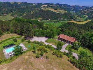 Spacious Villa in Marradi with Swimming Pool