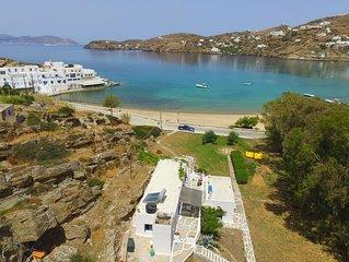 Beach Villa on Milopotas, Ios, Greece
