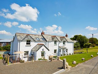 A LOVELY LARGE COTTAGE FOR COUPLES IN CORNWALL