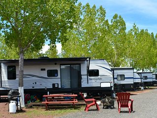 High-End RV Glamping - Your Outdoor Adventure Awaits