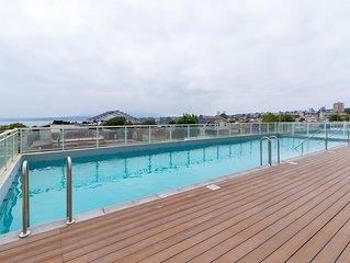 Comodo retiro con balcon y parrilla privada - Retreat w/ private balcony & grill