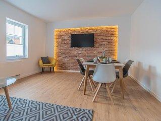 Familienfreundliches Apartment WLAN Stellplatz Handtucher Bettwasche