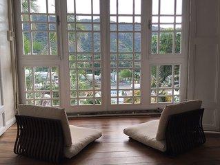 Magnifique appartement authentique et plein de charme, hyper centre de St Denis