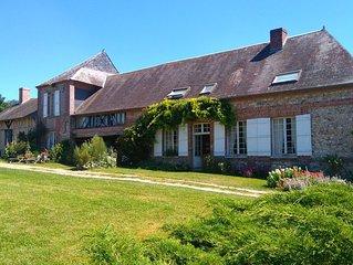 Ferme de la Haye ,  Manoir en Haute Normandie