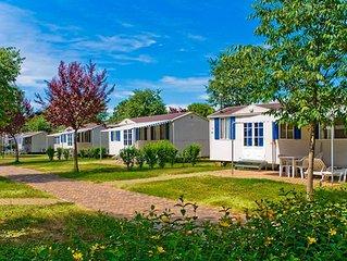 Ferienhaus - 6 Personen*, 32 m2 Wohnflache, 3 Schlafzimmer, Internet/WIFI, Kabel