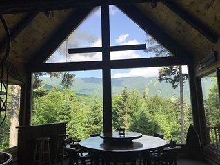 Stunning Views, Exquisite 6 BR Sugarbush Escape, 1 Minute to ski