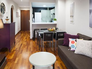 Apartamento centrico con terraza y parking