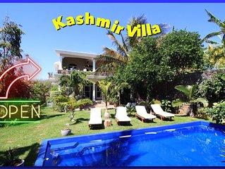 Villa mauricienne avec grande piscine privée
