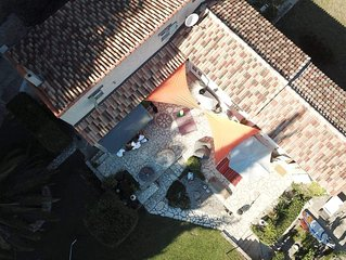 Newly renovated villa close to the village of Montauroux
