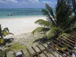 Pointe D Esny: Fleur de sel - Maison posée sur la plage
