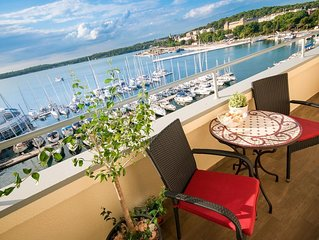 Beautiful Sea View Apartment Pula