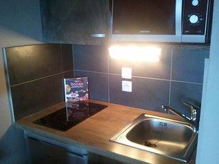 PYRENEES 2000 magnifique studio cabine refait à neuf