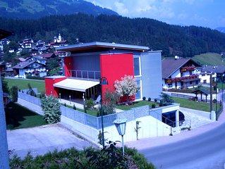 EIGENES modernes 108m² APART-Haus am SCHI-u.WANDERparadies  NEU: Spieljochbahn