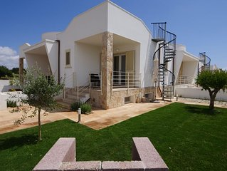 Appartamento nuovo a 400 mt dalla spiaggia di Pescoluse