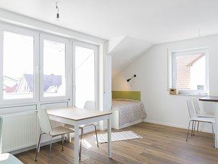 Neu renovierte 2 Zimmerwohnung mit eigenem Seezugang