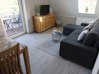 2-Zimmer Wohnung mit Deichblick an der Perlebucht