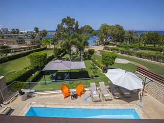 4 Bedrooms Beachfront Villa in the heart of Protaras.