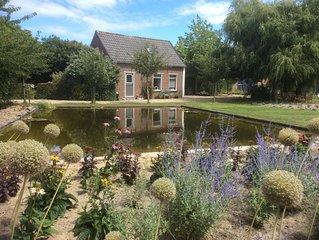 Luxuriose und romantische Cottage auf dem Lande nur 2 km von Meer entfernt.
