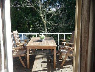 Wohnung mit großer Terrasse und Garten in Sonnenlage von Baden-Baden