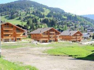 Luxueus Chalet/Appartement in Morgins in prachtig bergdorp