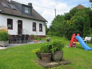 Unser Ferienhaus mit 7 Raumen bietet Ihnen auf 120m2 viel Platz fur Ihren Urlaub