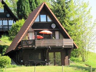 Ferienhaus in ruhiger Lage im Ferienpark Vorauf im Chiemgau