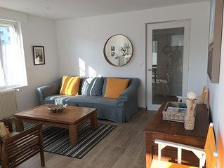 Appartement-maison Wimereux 50m de la plage avec jardin, garage et wi fi
