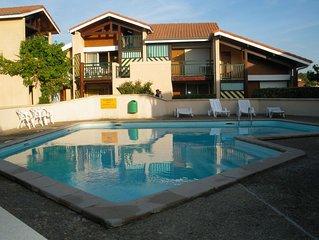 BEL APPT calme, idéalement situé, 200m plage, spot de surf, Le Cers    - WIFI -