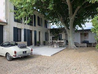 Mas entre Saint Remy de Provence et Avignon