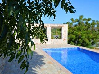 """Luxury """"Villa Zoe"""" with a private pool in Drepano, Nafplio, Argolis"""