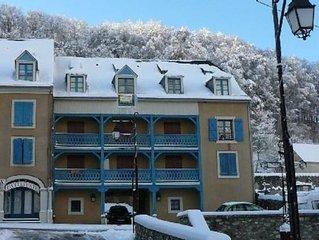 Petit appartement situé dans village montagnard appartement très ensoleillé