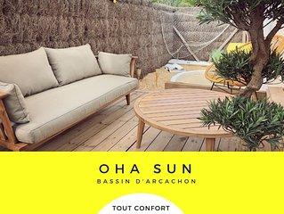 OHA SUN - Sur le bassin d' Arcachon, entre la dune du Pyla et le Cap ferret