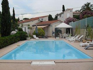 Location villa F4 - 8 couchages avec piscine Corse du sud