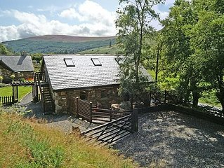 Detached stone cottage in secluded valley in the heart of the Wicklow Mountains