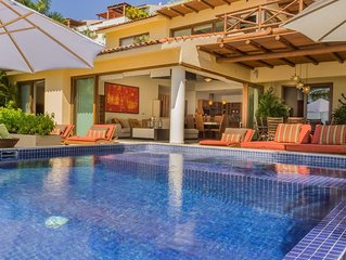 Luxury Oceanfront Villa in Punta Esmeralda with Gorgeous View!