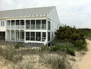 Ocean Front Townhouse - Directly On The Beach
