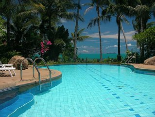 Villa With Communal Pool On A Peaceful Beach With Amazing Views
