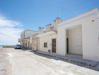 Casa 2 camere letto, 10 metri dalla spiaggia di sabbia