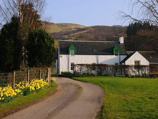 4* Self-Catering Cottage on a traditional Scottish hill farm