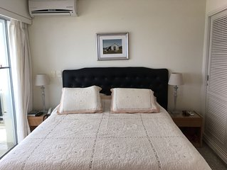 FRONTLINE ideal location, fully refurbished, outdoor pool, beach, maid service