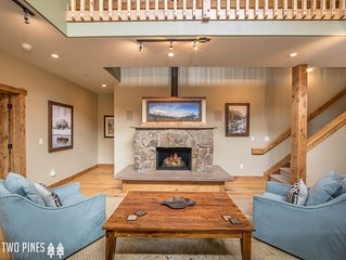 Luxurious Townhome in Big Sky`s Town Center! Your Winter Retreat Starts Here!