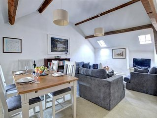 Dove Cottage has an interesting lay out with the bedrooms and shower room on the