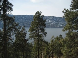 Beautiful Private Home - 1.25 Acres Overlooking Lake Okanagan