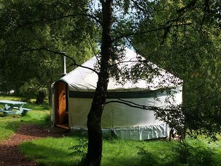 Aspen Yurt - One Bedroom Camping, Sleeps 4